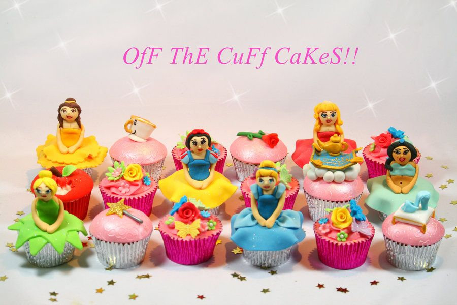 Disney Princess Cupcakes - by OfF ThE CuFf CaKeS!! @ CakesDecor.com - cake decorating website