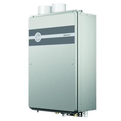 Rheem Ecosense 9 5 Gpm 199 900 Btu Lonox Liquid Propane Gas Indoor Tankless Water Heater Ecoh200dvlp The Home Depot