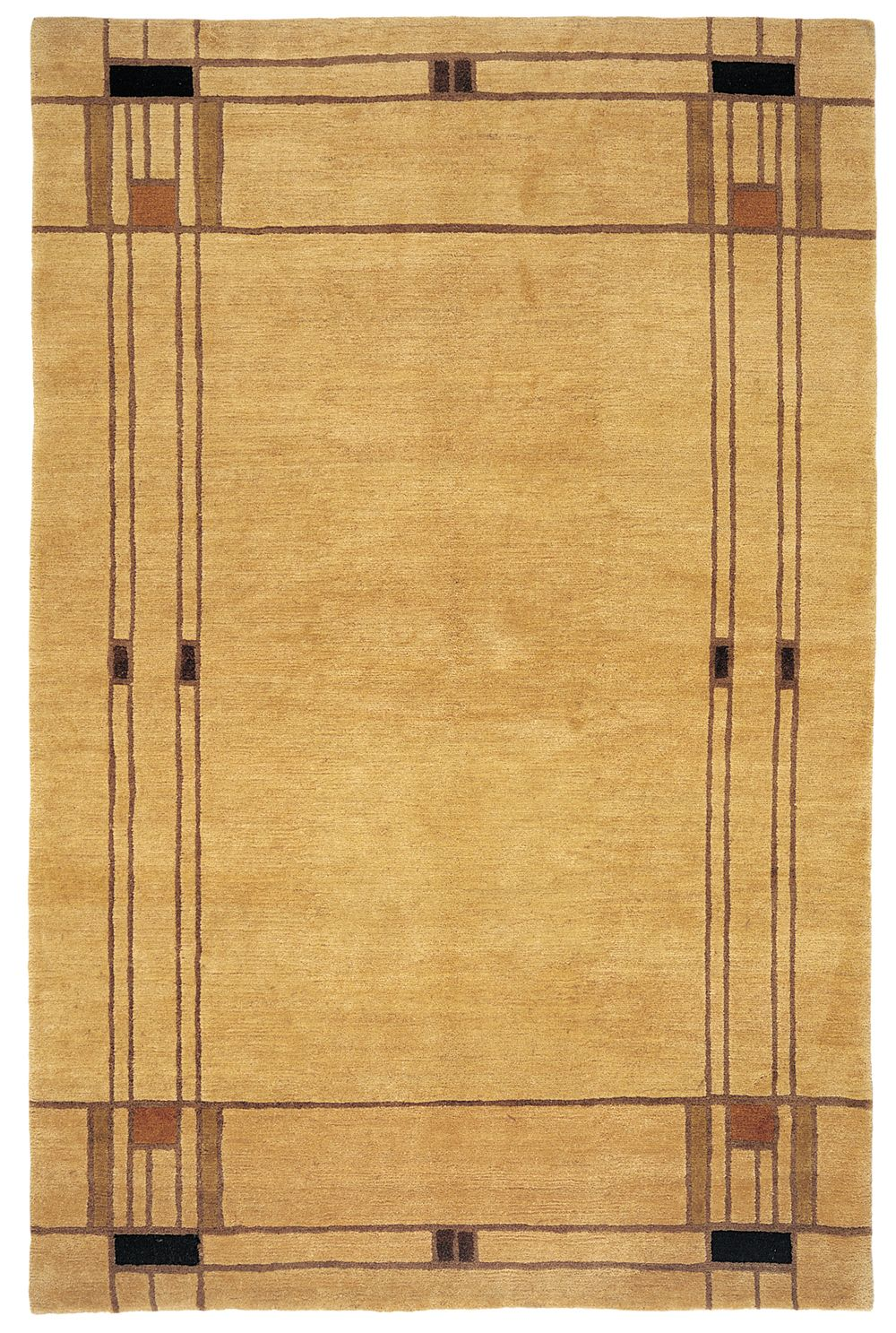 Tufenkian Setana Mission Cornsilk Area Rug  at Rug Studio wool