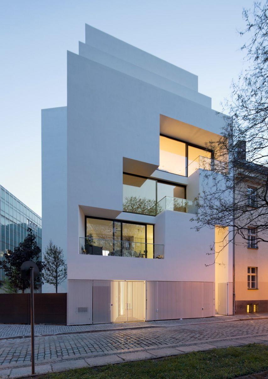 scharfe kanten berliner wohnhaus von atelier zafari architectur pinterest