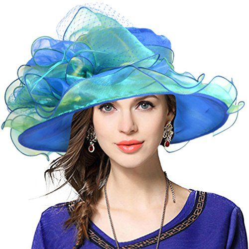 3deea41873f JESSE ¡¤ RENA Women s Church Derby Dress Fascinator Bridal Cap British Tea  Party Wedding Hat