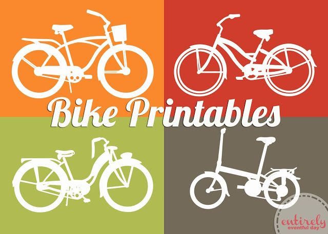 Ride Into Spring Free Bike Printable Bicycle Party Bicycle
