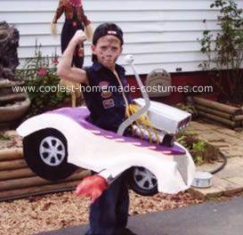 coolest hot rod race car costume