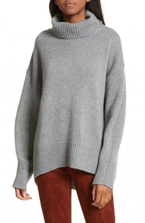 turtleneck Sweet Joseph women's grey sweater clothing cashmere 5xwZFv8Rq