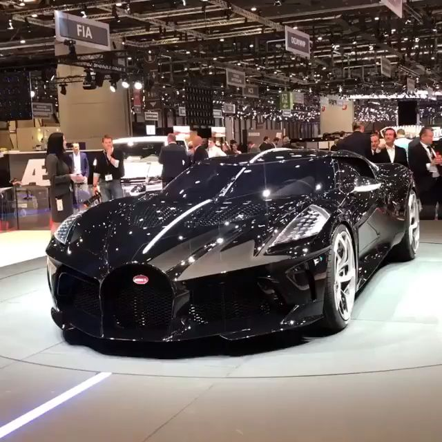 Photo of New Bugatti La Voiture