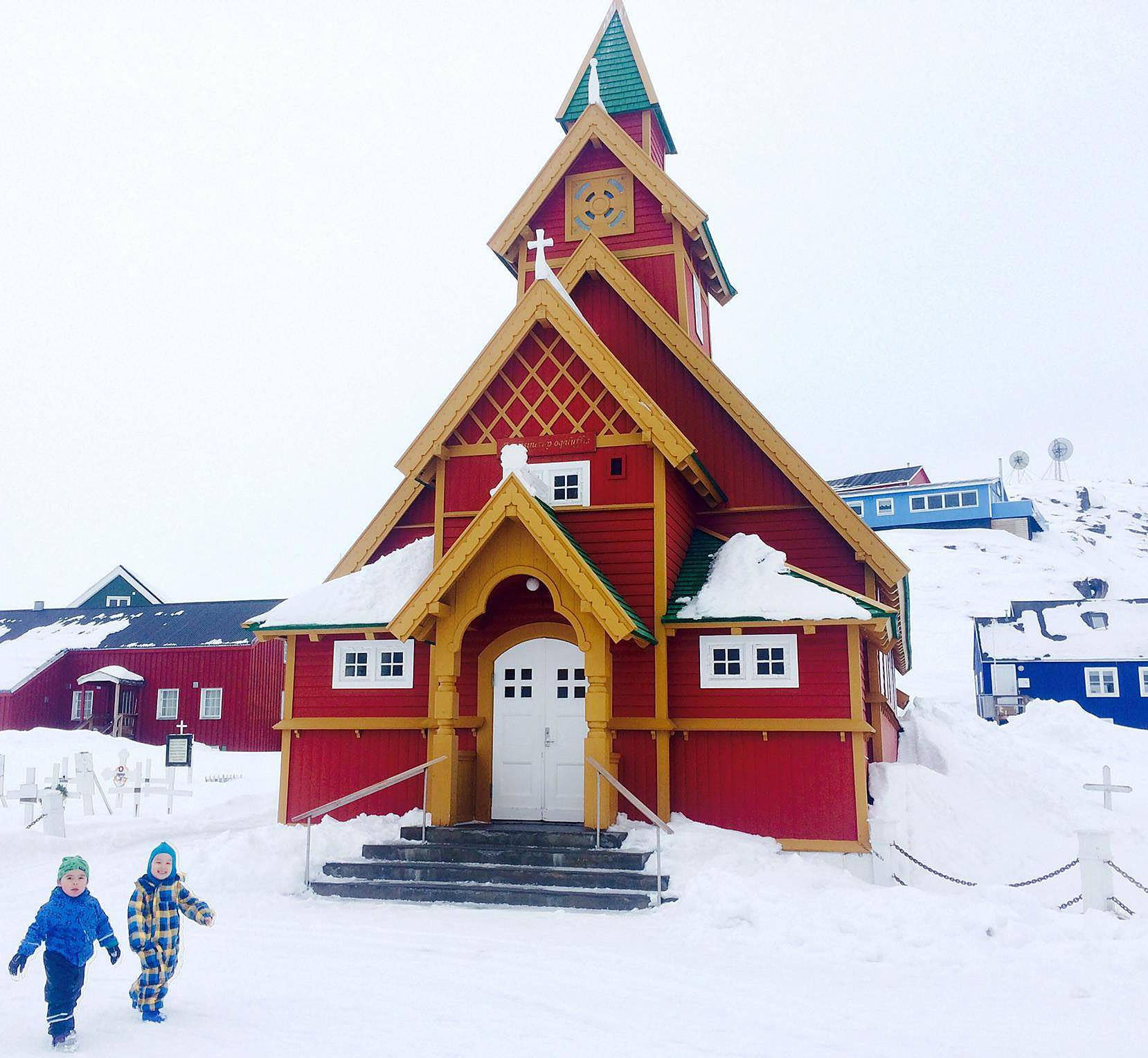 The Beautiful Church In Paamiut Greenland Greenland Today Photo Mike Magidson Greenland Nuuk Church