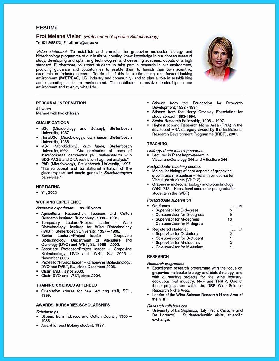 Phd Industry Resume Example Elegant 9 10 Chemistry Phd