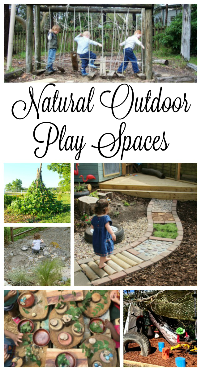Gorgeous and Inviting Outdoor Play Spaces images