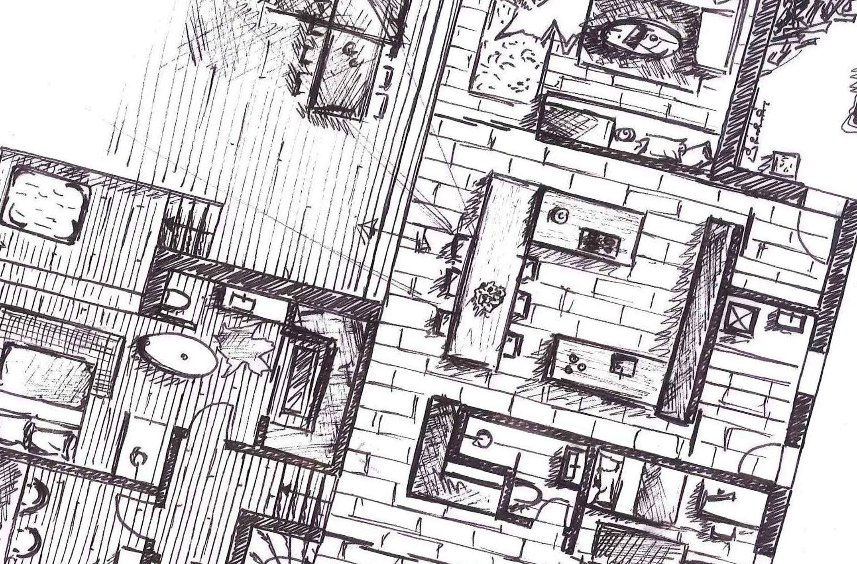 Martina Sutter Raumdesign Grundriss Innenarchitektur Skizze Als Erfahrene Innenarchitektin Unterstutze Ich Privatpersonen Und Unternehmen
