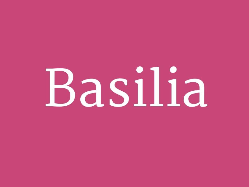 "Basilia – from the collection ""Huge List of Baby Girl's Names in Alphabetical Order"""