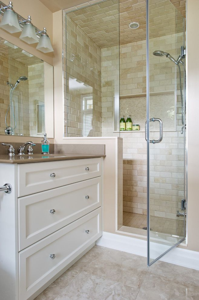 Winsome Bathroom Traditional Design Ideas For Tile Shower Shelf Ideas Image Gallery Small Bathroom Remodel Bathrooms Remodel Traditional Bathroom