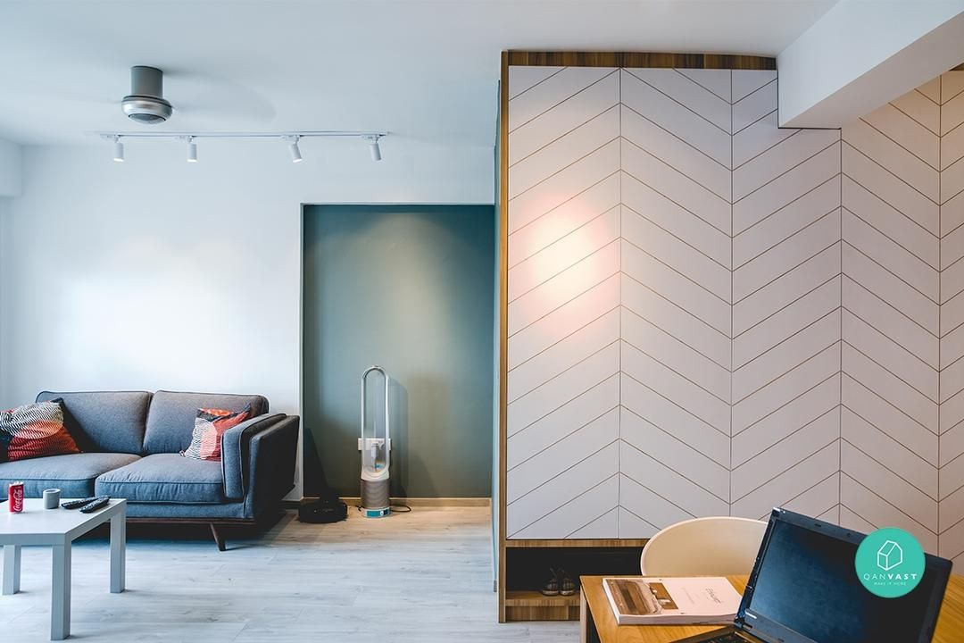 Under 40 000 8 Non Basic 4 Room Hdb Renovations We Love Interior Design Singapore Interior Design Living Room Interior Design