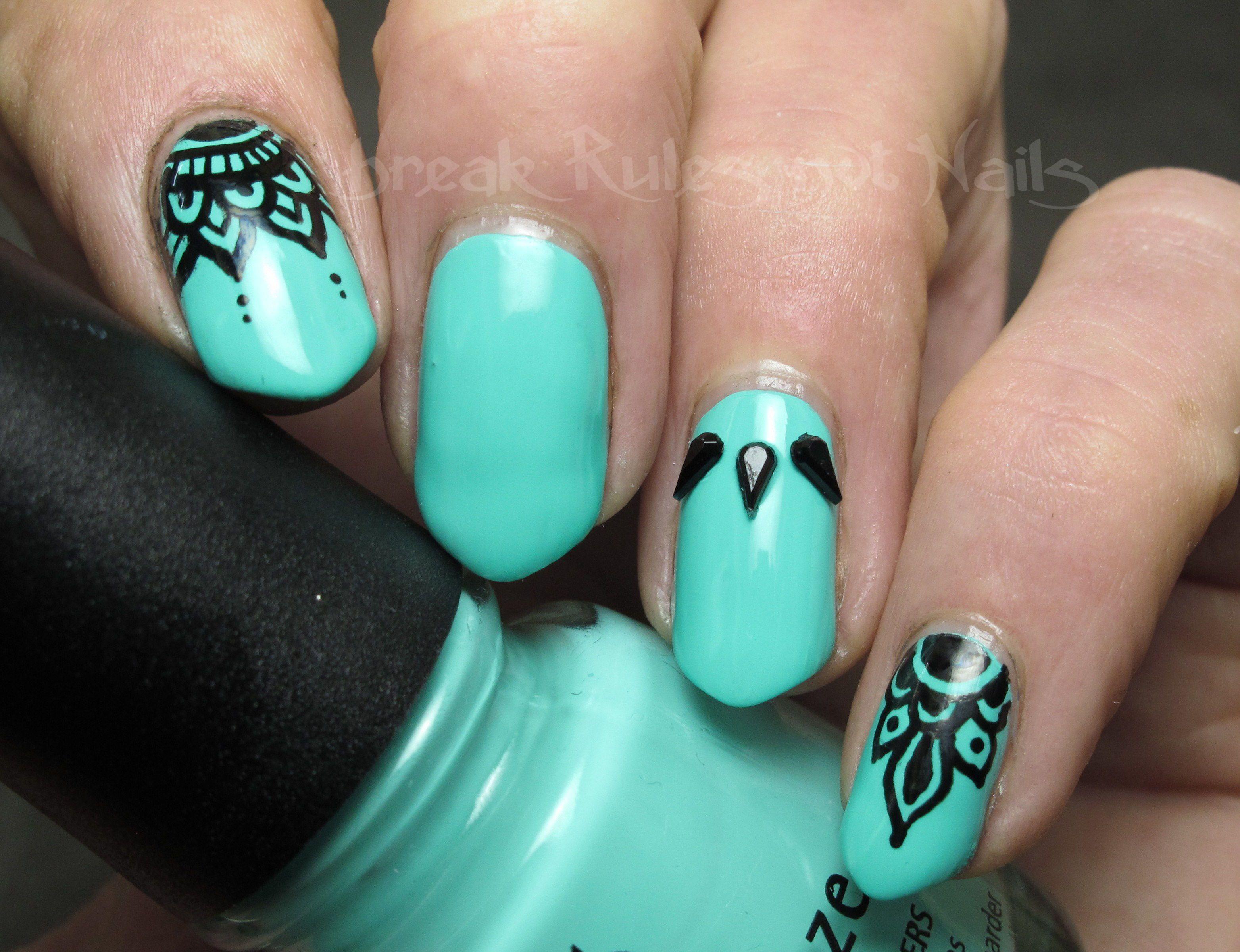 half nail colour - google search | nails | pinterest | nail envy