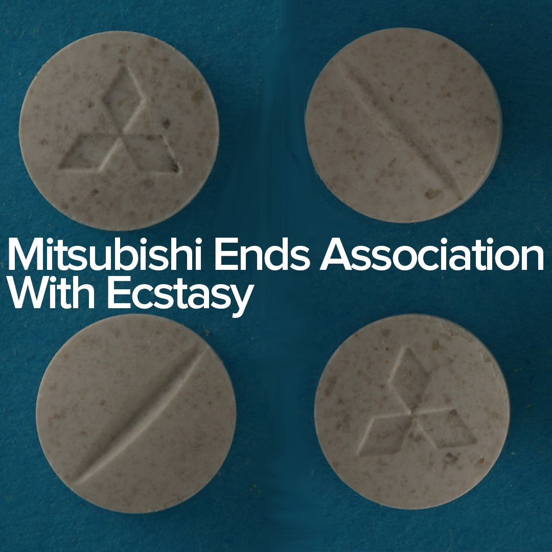 Mitsubishi Ends ociation With Ecstasy | Peace | Pinterest