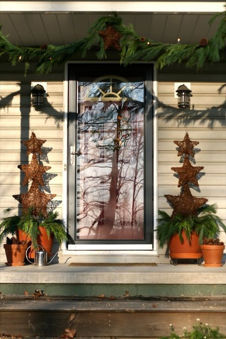 Christmas Outdoor Decorations christmas / All-Natural Outdoor