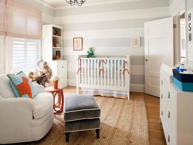 Comment décorer la chambre de bébé - 29 bonnes idées Room ideas