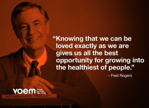 A Beautiful Day In The Neighborhood Inspired Quotes Of Mr Rogers Inspirational Quotes Inspirational People Powerful Words