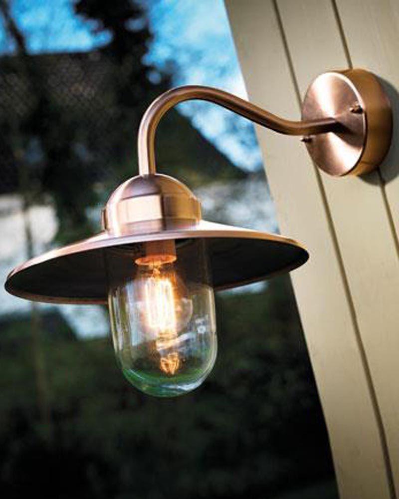 Copper Outdoor Lighting Fixtures Light