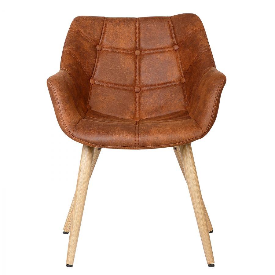 Armlehnenstuhl lamppi wohnen chair furniture und leather for Armlehnenstuhl speisezimmer