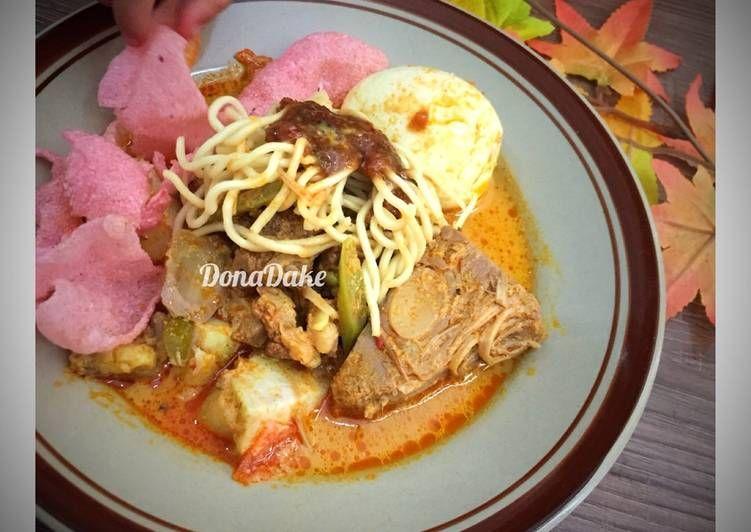 Resep Lontong Pical Padang Oleh Donadake Resep Makanan Resep Gulai