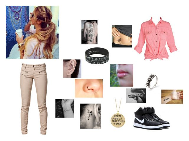 """""""Carnival"""" by eclipse188 ❤ liked on Polyvore featuring SELECTED, NIKE and Alisa Michelle"""