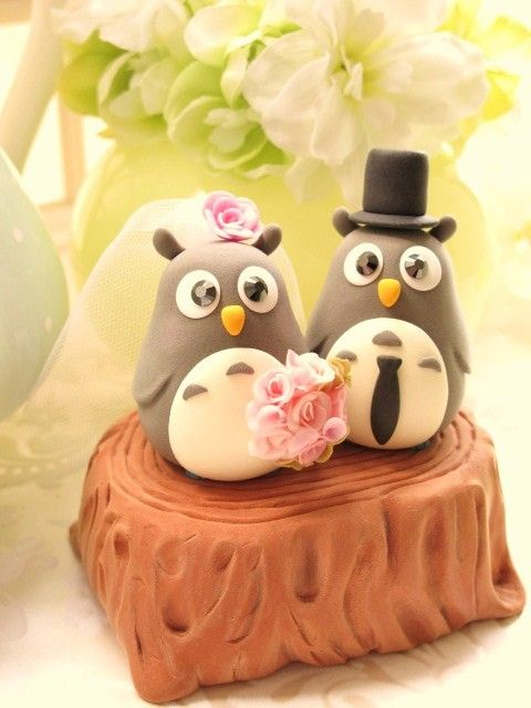 Wedding Cake Topper - Love penguins. These are so adorable! I had ...