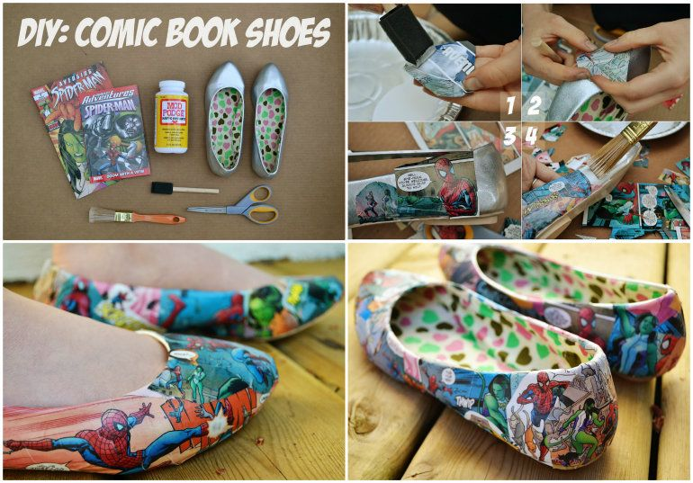 Develop your super powers with comic book shoes comic book shoes how good are these comic book shoes and you can make them yourself you solutioingenieria Gallery