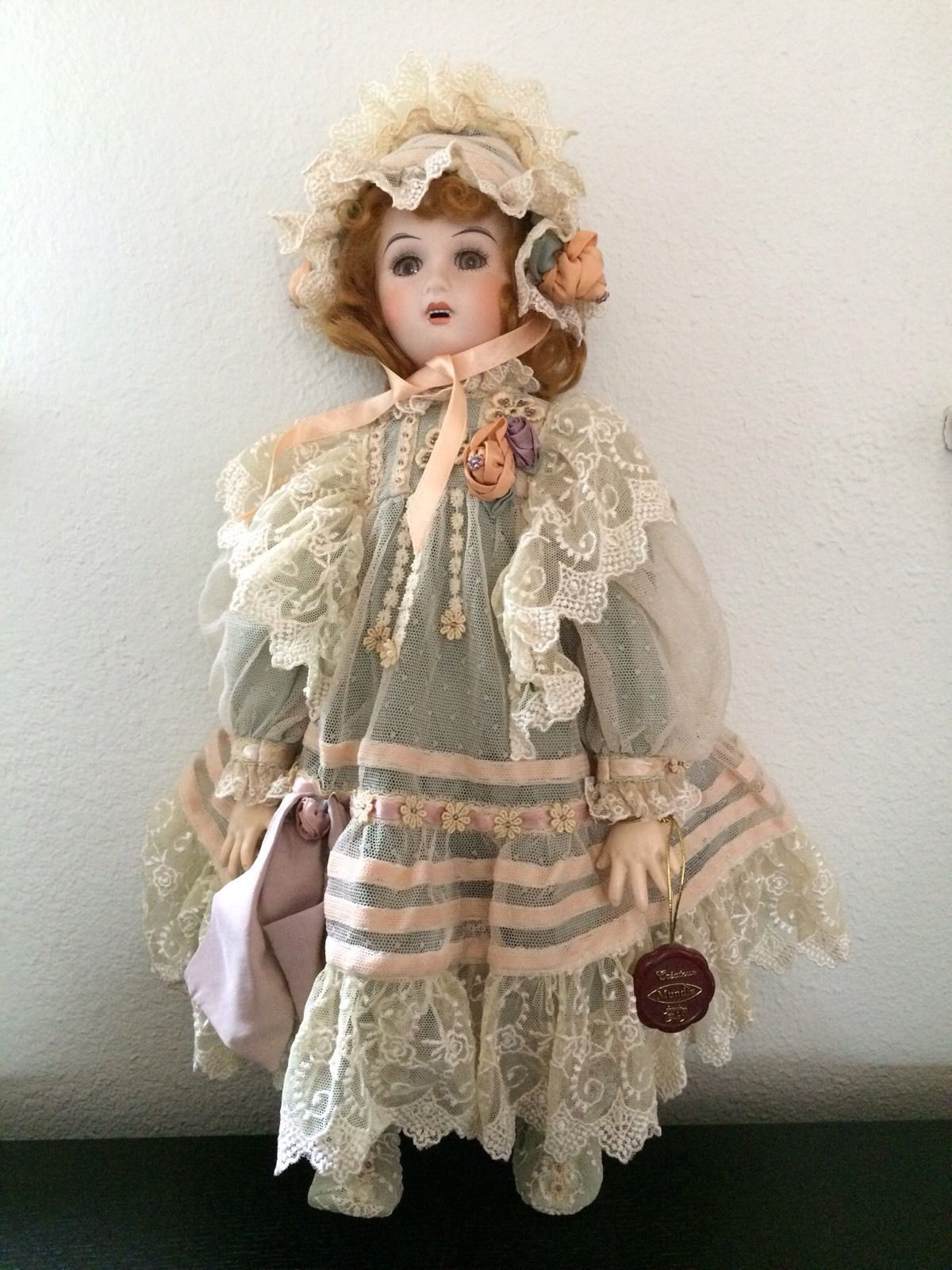 Mundia Porcelain Doll 6302B in | eBay