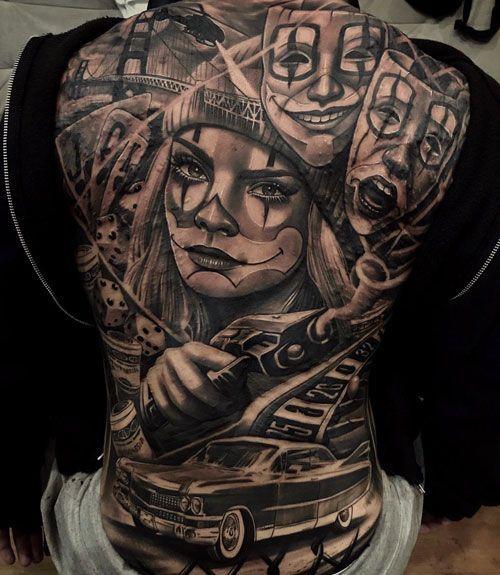 125 Best Back Tattoos For Men: Cool Ideas + Designs (2020 Guide) -  Cool Back Piece Tattoo – Best Back Tattoos For Men: Cool Back Tattoo Designs For Guys – Men's - #cool #designs #dragontattoo #foottattoos #Guide #Ideas #Men #piscestattoo #tattooideasforguys #Tattoos