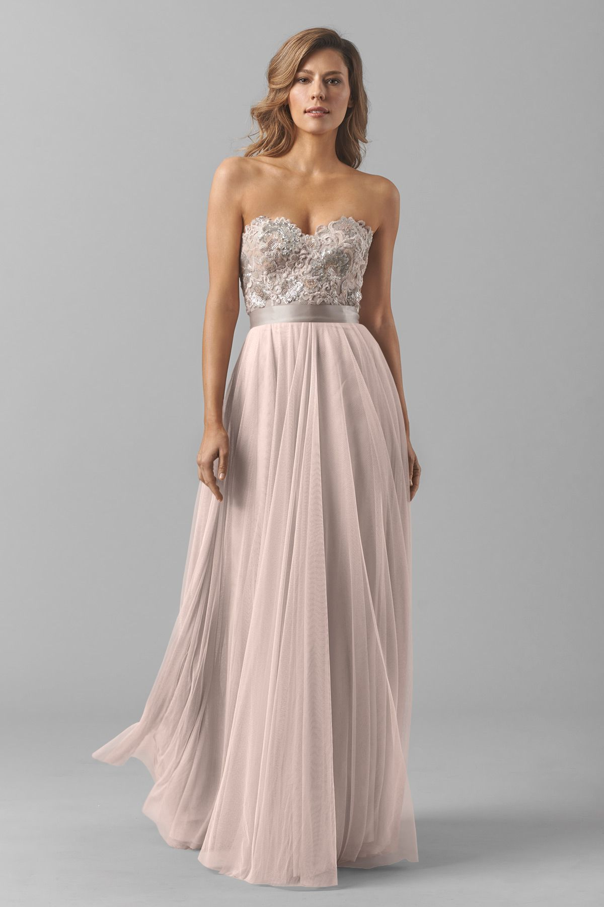 Watters Maids Dress Brescia   bridesmaid dresses   Pinterest