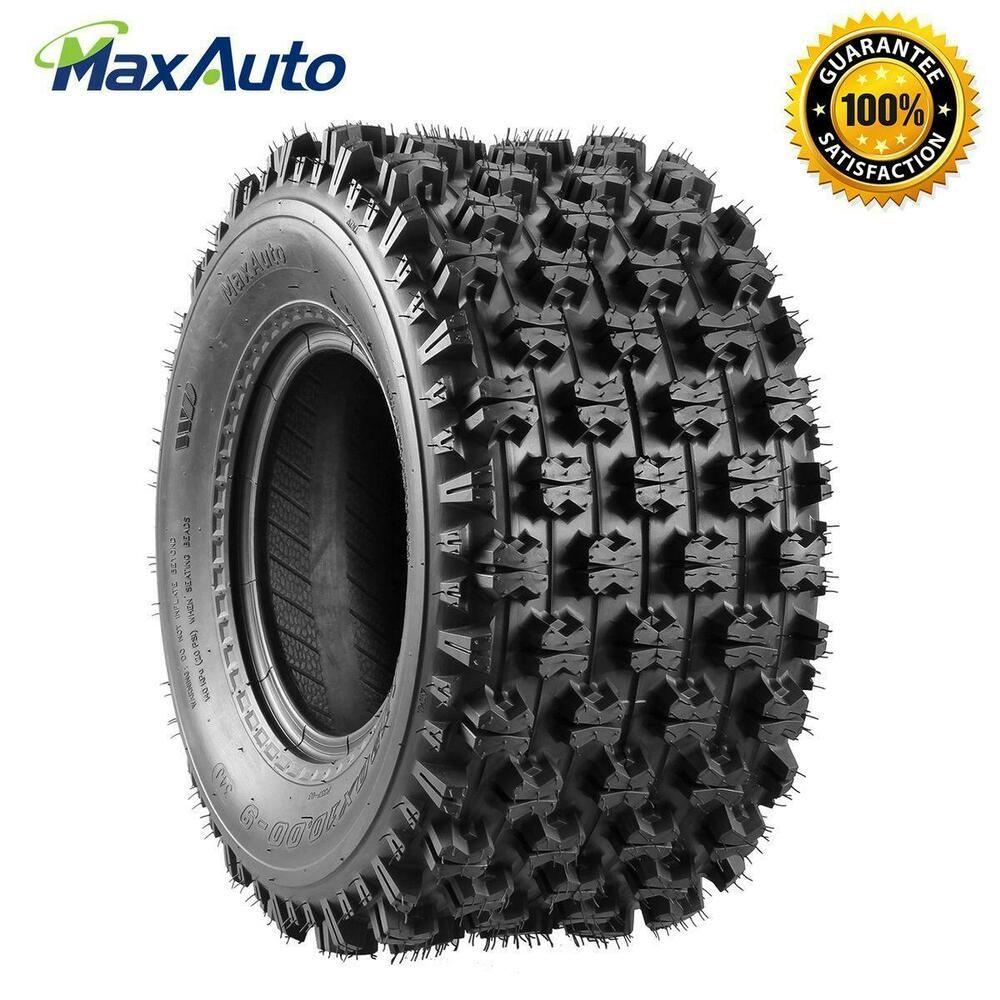 1 pcs MaxAuto 20x10-9 20x10x9 Rear ATV Tire 4-PLY