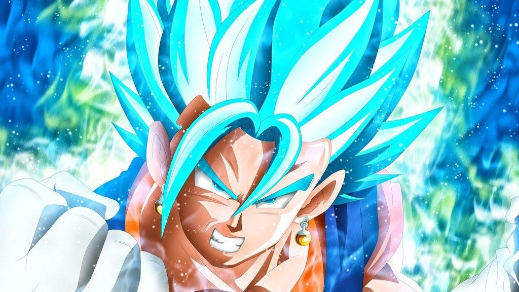 Blue goku dragon ball anime boy wallpaper super saiyan