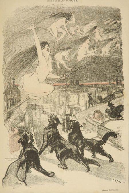 Metamorphose, Theophile Steinlen, 1893.