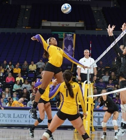 Lsu Volleyball Google Search Louisiana State University Lsu Volleyball