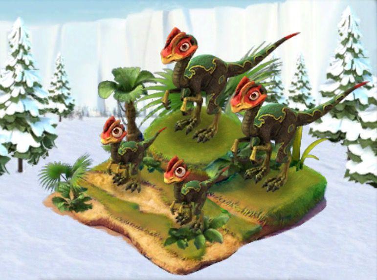 Ice Age Village...... Familia Rattlersaurus