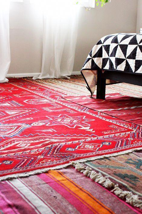carpetrunners20feetlong key 6001084161  layered rugs
