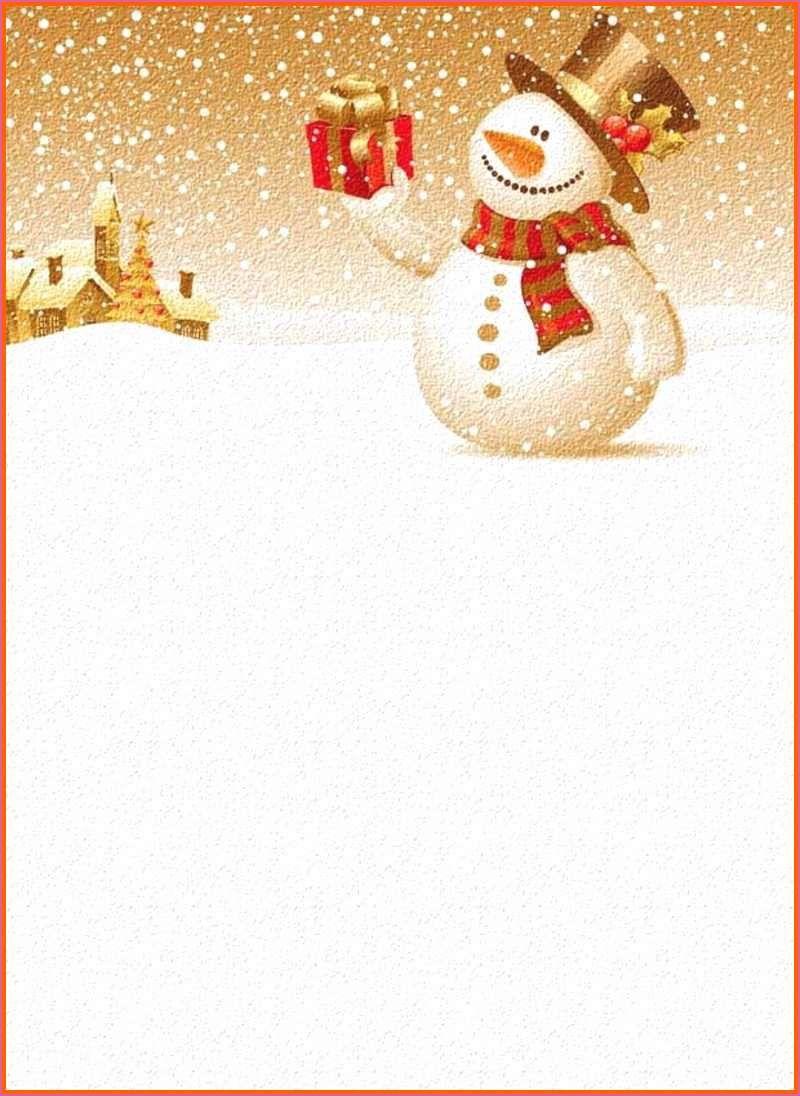 Spektakular Word Vorlage Weihnachten Briefpapier