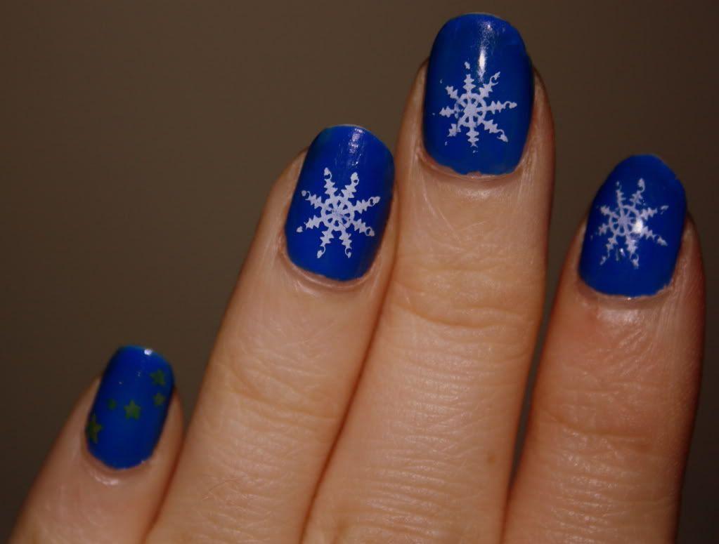 Winter nails.