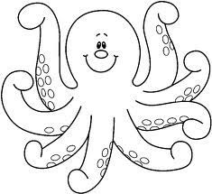 Octopus Clipart Google Search Octopus Coloring Page Coloring