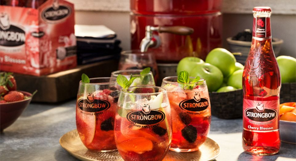 Strongbow Apple Ciders Cherry Blossom Cider recipe