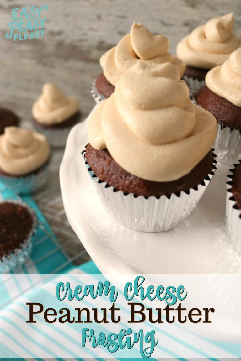 Lick The Bowl Peanut Butter Frosting - Easy Peasy Pleasy
