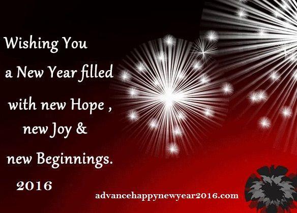 happy new year photo card