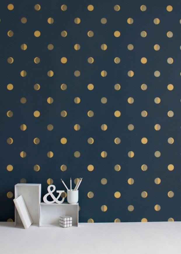 emejing papier peint chambre petite fille photos. Black Bedroom Furniture Sets. Home Design Ideas