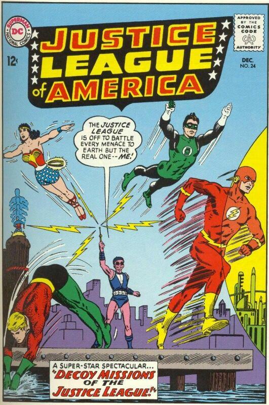 Best comics covers jla images on pinterest