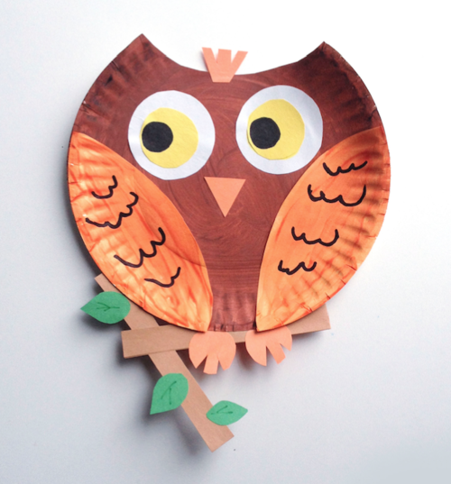 Paper Plate Animals — blue manatee press | Biomes | Owl