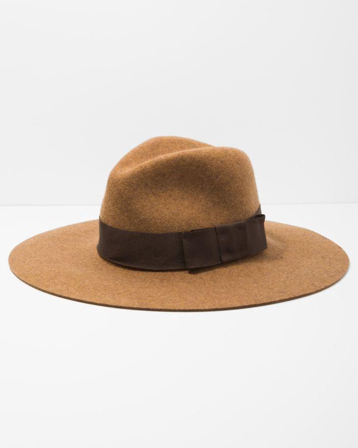 f3e9e333da4 7 FOR ALL MANKIND Brixton Piper Hat in Heather Coffee.  7forallmankind