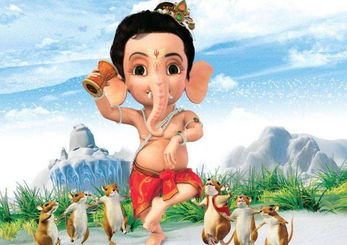Bal Ganesh 3d Cartoon Happy Ganesh Chaturthi Images Ganesh Ganesh Images