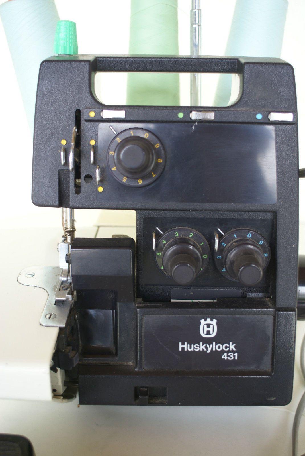 Nahmaschine Huskylock 431 Nahmaschine Ebay