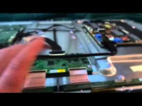 Led Lcd Tv Fix How To For Samsung Double Image Black Vertical