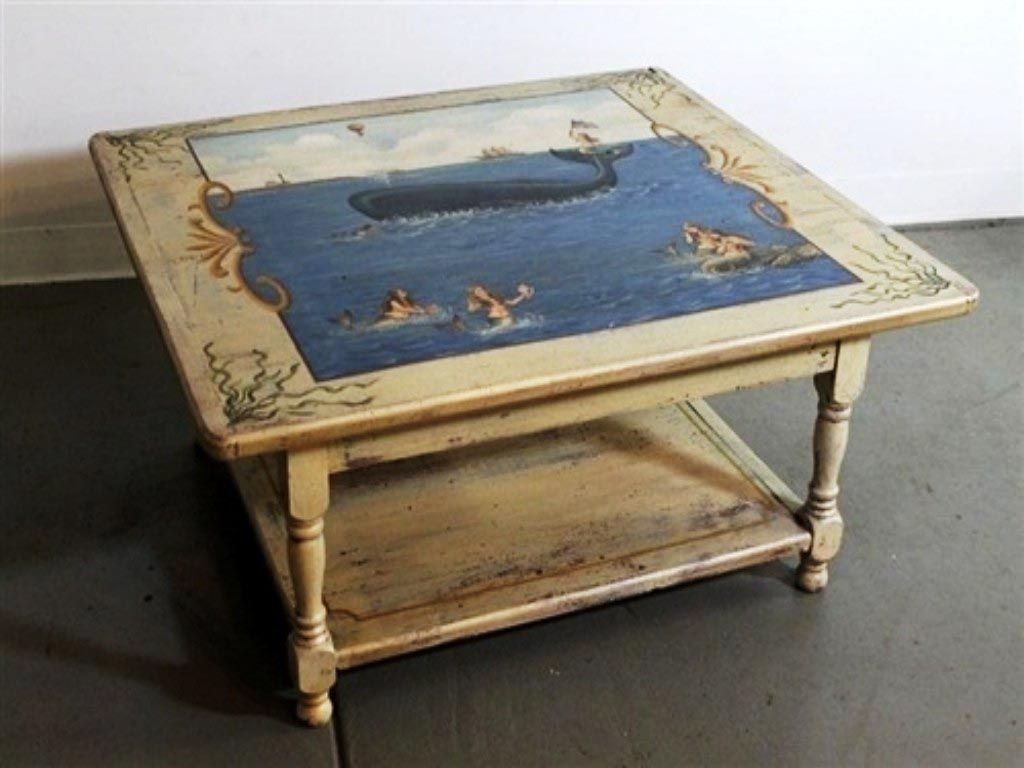 Diy painted coffee table ideas coffee tables pinterest paint diy painted coffee table ideas geotapseo Images
